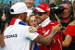 Формула 1 Новость Феттель и Хэмилтон отдали друг другу должное после решающей гонки