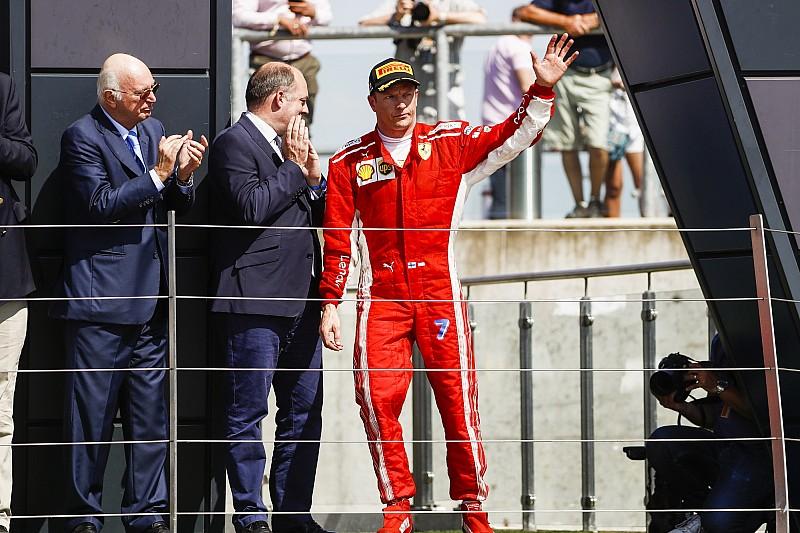 Schumacher után Raikkönen lehet a következő, aki 39 felett dobogóra áll