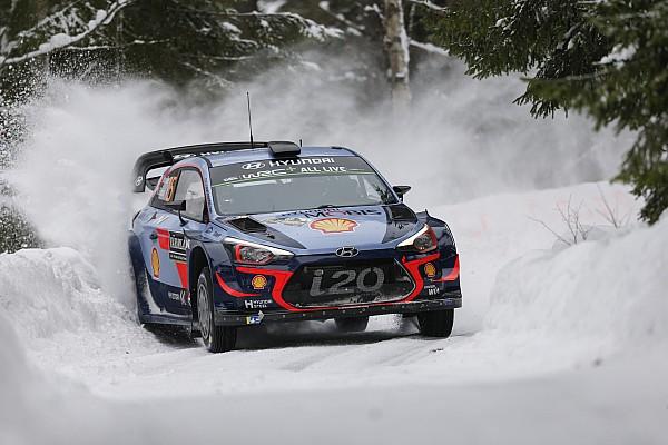 WRC Rallye Schweden 2018: Thierry Neuville behauptet die Führung