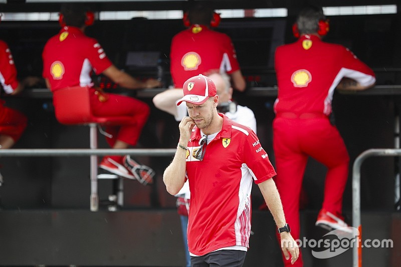 Ferrari debería haber rebajado la presión sobre Vettel