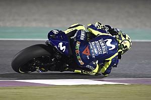 Rossi alami kecelakaan di FP3 Qatar