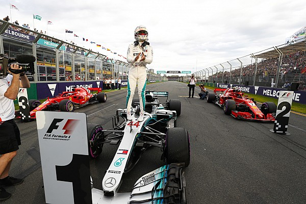 Formula 1 Qualifying report GP Australia: Hamilton pecahkan rekor, rebut pole perdana F1 2018