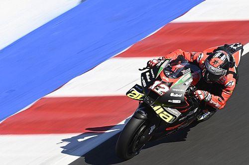 "Vinales: Qualifying ""still complicated"" on Aprilia MotoGP bike"