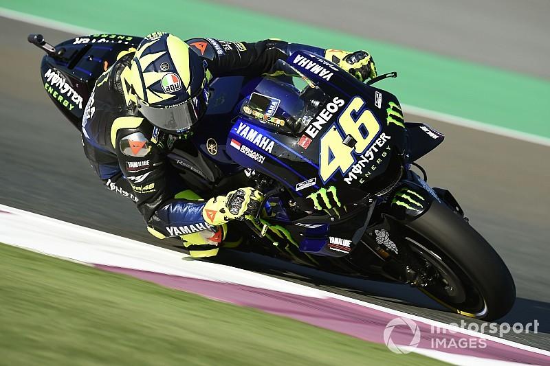 Qatar MotoGP: Rossi leads Lorenzo in first practice