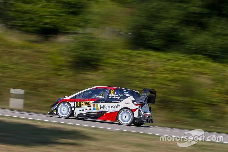 Türkiye WRC 16. etap: Ogier yine lider, Tanak galibiyete gidiyor!