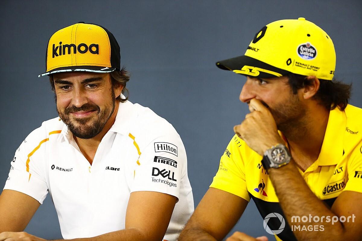 Sainz: Alonso'nun gidişi Formula 1'e zarar vermeyecek