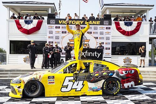 Kyle Busch spins and then wins Road America Xfinity race
