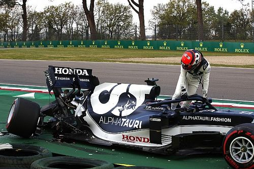 Цуноде заменили почти всю силовую установку после аварии в квалификации