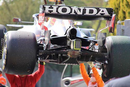 Cómo quedaron al aire nuevos detalles del Red Bull F1 en Imola