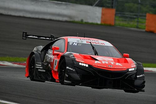 Honda completes Fuji Super GT test clean sweep