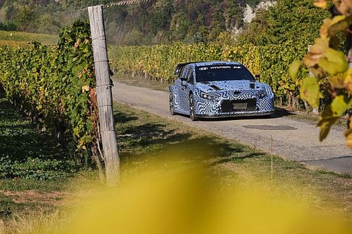Hyundai puts 2022 WRC car through full rally simulation