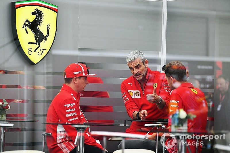 Ferrari not a team in disarray, insists Arrivabene