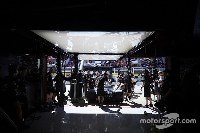 Un problema en el Mercedes obliga a Bottas a utilizar el motor antiguo