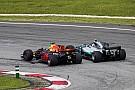 Formula 1 Ricciardo's overtakes in 2017