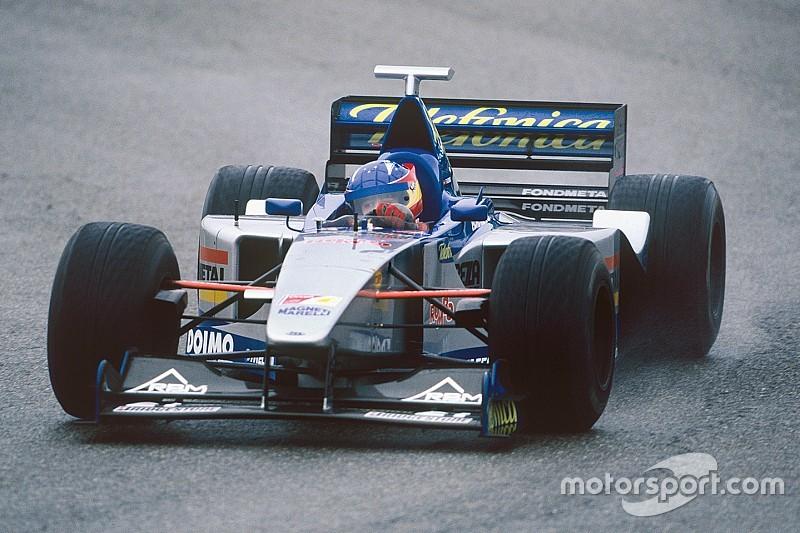 El primer test de Alonso en Fórmula 1