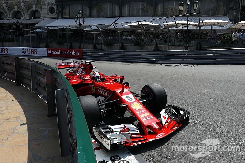 Formel 1 2017 in Monaco: Sebastian Vettel führt Ferrari-Doppelerfolg an