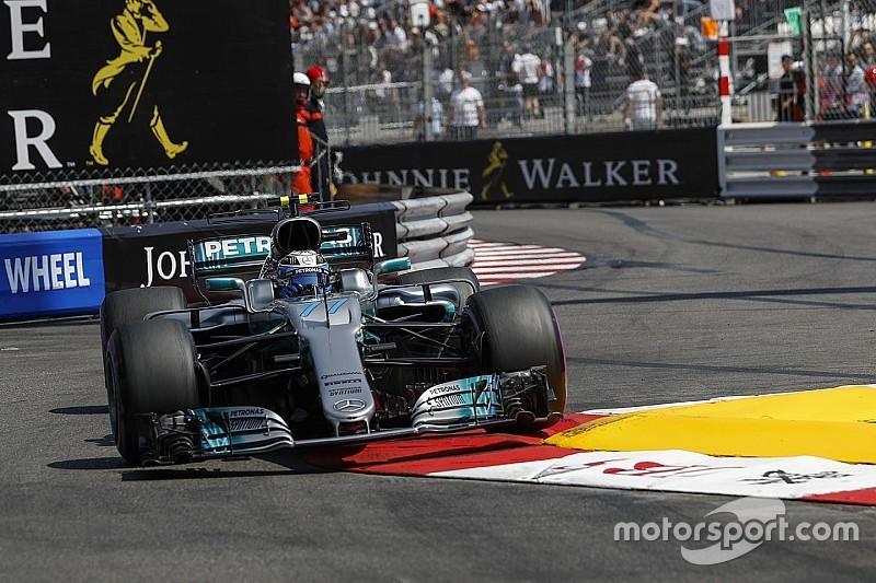 Seul face aux Ferrari, Bottas a tout tenté