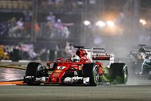 Вільньов звинуватив Феттеля в завалі на старті Гран Прі Сінгапуру