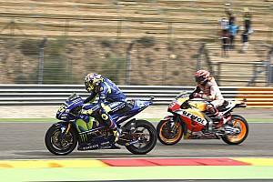 MotoGP Репортаж з практики Гран Прі Арагону: Маркес виграв третю практику, Россі - у Q2