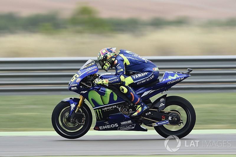 """Rossi na comeback: """"Afwachten voor droog weer"""""""