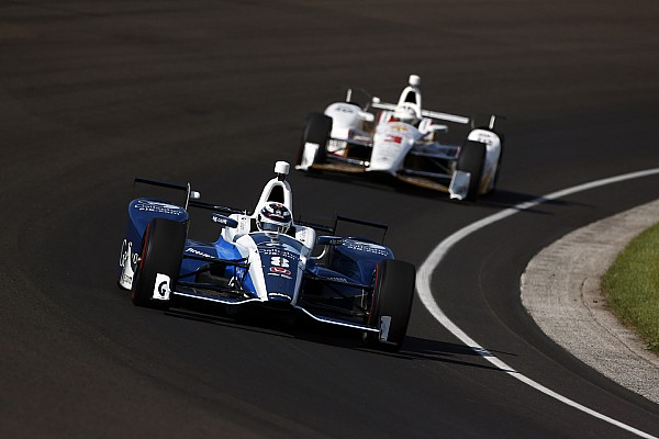 IndyCar Reporte de prácticas Chilton lidera el penúltimo entrenamiento antes de la Indy 500