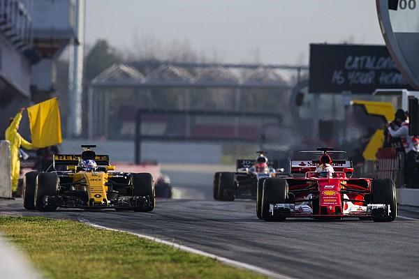 F1-Test Barcelona: Alle Ergebnisse auf einen Blick