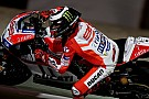 Lorenzo sufre su primera caída como piloto de Ducati