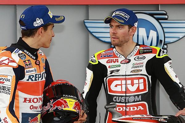 MotoGP Crutchlow sesalkan Marquez tidak finis balapan