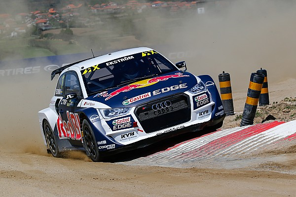 Rallycross-WM Rallycross-WM in Portugal: Mattias Ekström holt 2. WRX-Saisonsieg 2017