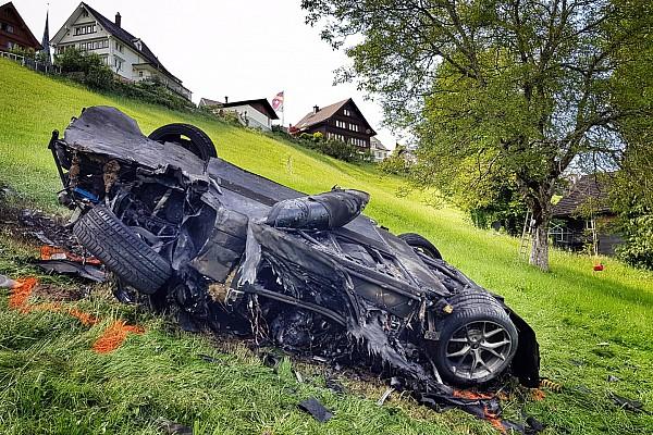 Schweizer bergrennen News Neue Details zum Unfall von Richard Hammond in Hemberg