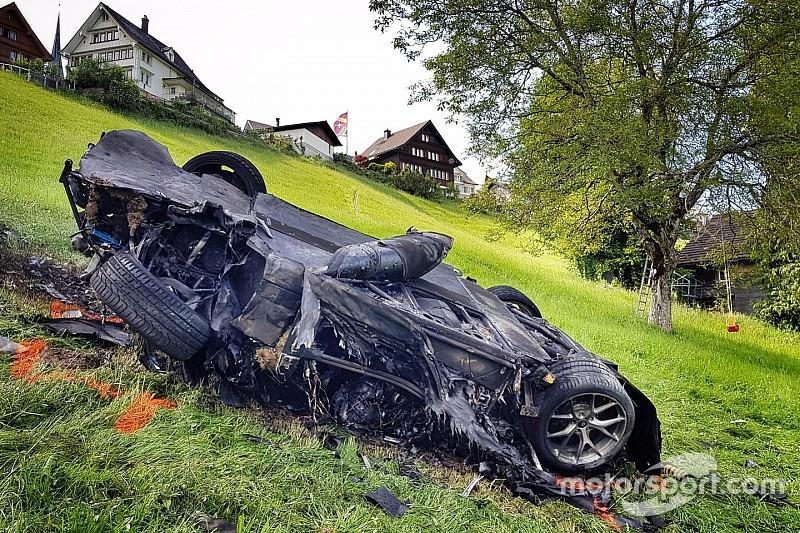 Swiss hillclimb organisers fined over fiery Hammond crash
