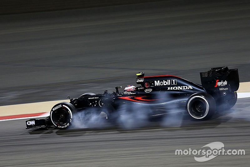 Button is third quickest on Friday free practice in Bahrain