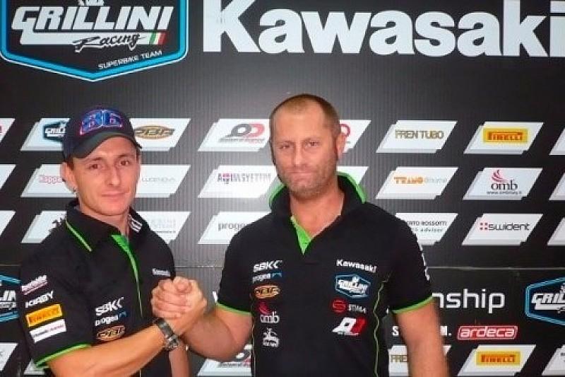 Badovini kembali ke WorldSBK bersama Grillini Racing
