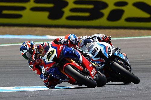 Bautista: Honda progress, not beating BMW, the priority