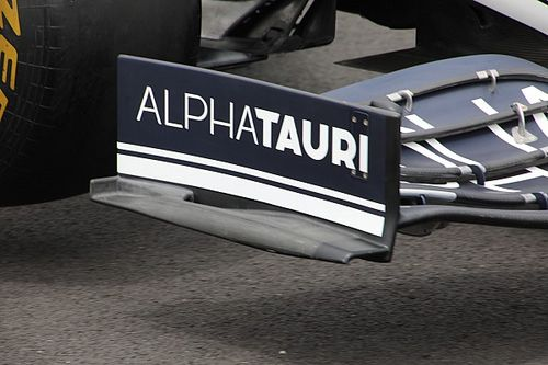AlphaTauri: sul marciapiede c'è uno slot come sull'Alfa