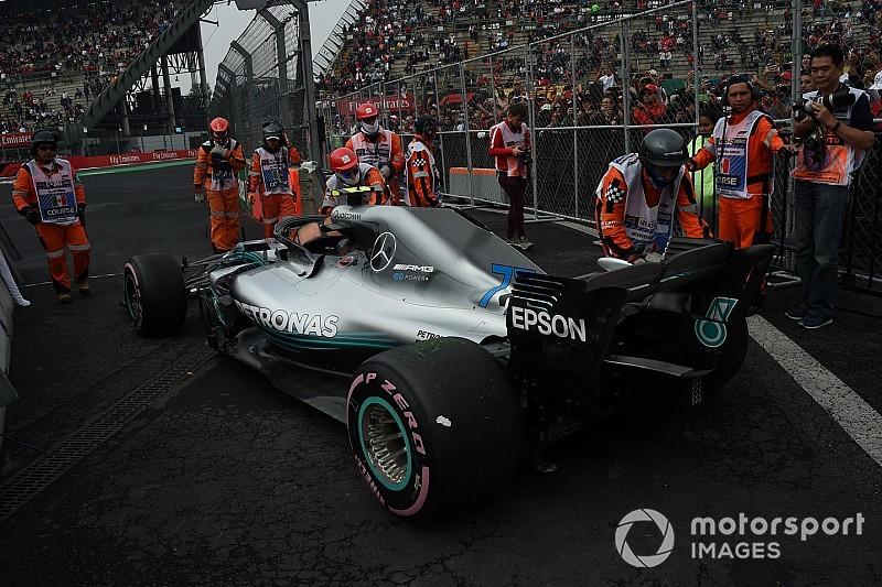 Mercedes no ve peligrar el motor de Hamilton tras fallar el de Bottas