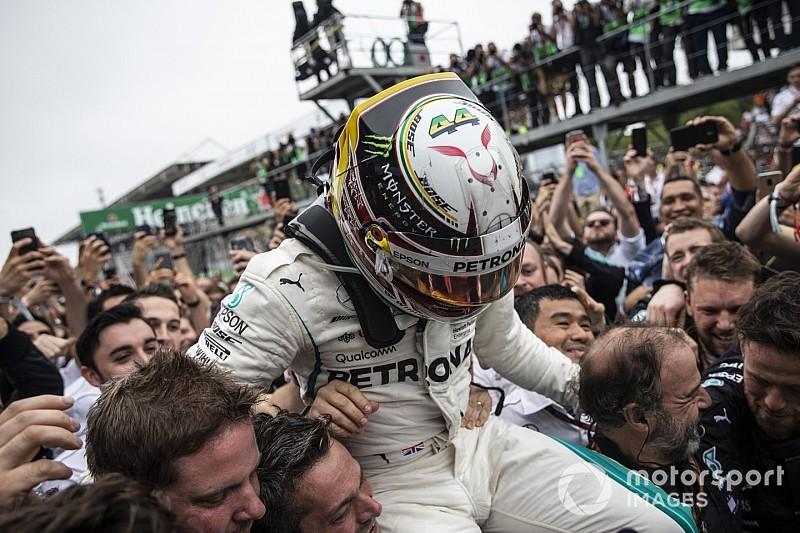 Photos - Mercedes remporte le titre constructeurs 2018