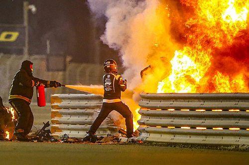 """""""فيا"""" تكشف سبب حريق سيارة غروجان في البحرين ضمن تقرير الحادث"""
