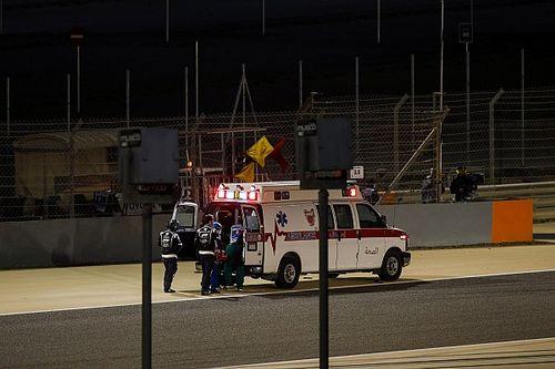 F1: Grosjean passará noite em hospital após acidente no GP do Bahrein