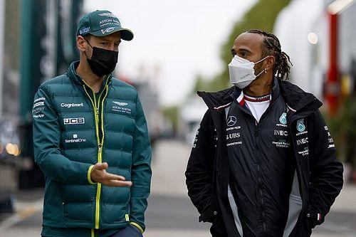 "Hamilton: ""Kariyerimin en iyi rekabeti Vettel'leydi"""