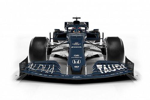 AlphaTauri presentó su coche para la F1 2021