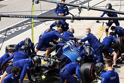 Williams gaat uitdaging aan: 100 pitstops op Portimao