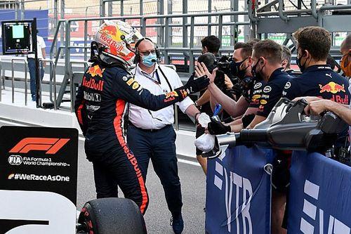 """Verstappen: """"İki Mercedes'in arasına girmek güzel"""""""