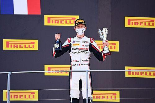 ART bevestigt Sauber-junior Pourchaire voor F2-seizoen 2021