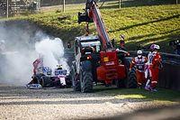 Nem tudták megmenteni Stroll motorját a mugellói balesete után