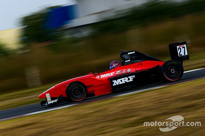 Chennai MRF F1600: Chatterjee starts year with dominant win