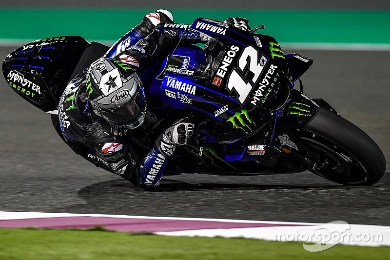 MotoGP-Test in Katar: Maverick Vinales beginnt mit Bestzeit