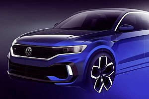 Volkswagen показав тізер нового кросовера T-Roc R