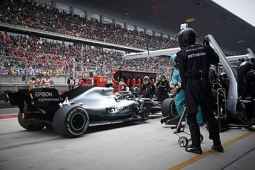 Mercedes: China double-stack was Wolff's idea