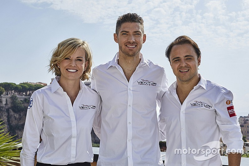 Venturi retains Mortara alongside Massa in Formula E